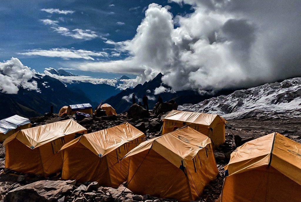 L'aventure continue jusqu'au camp 1 avec Thibaut Wadowski